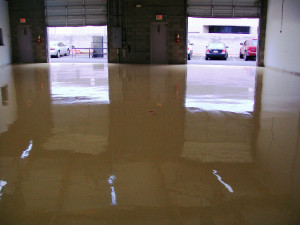 Warehouse concrete Coating