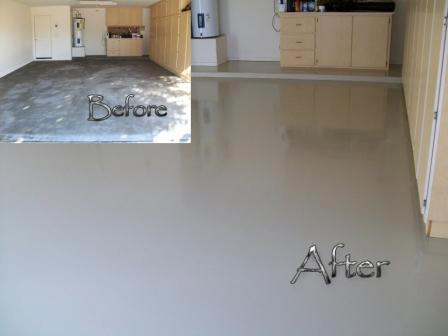 Epoxy Floors Before And After
