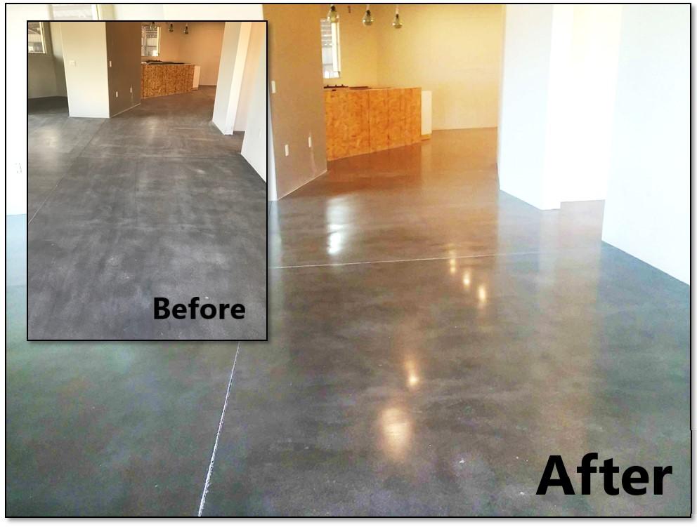 Concrete Polishing Arrowhead Deck And