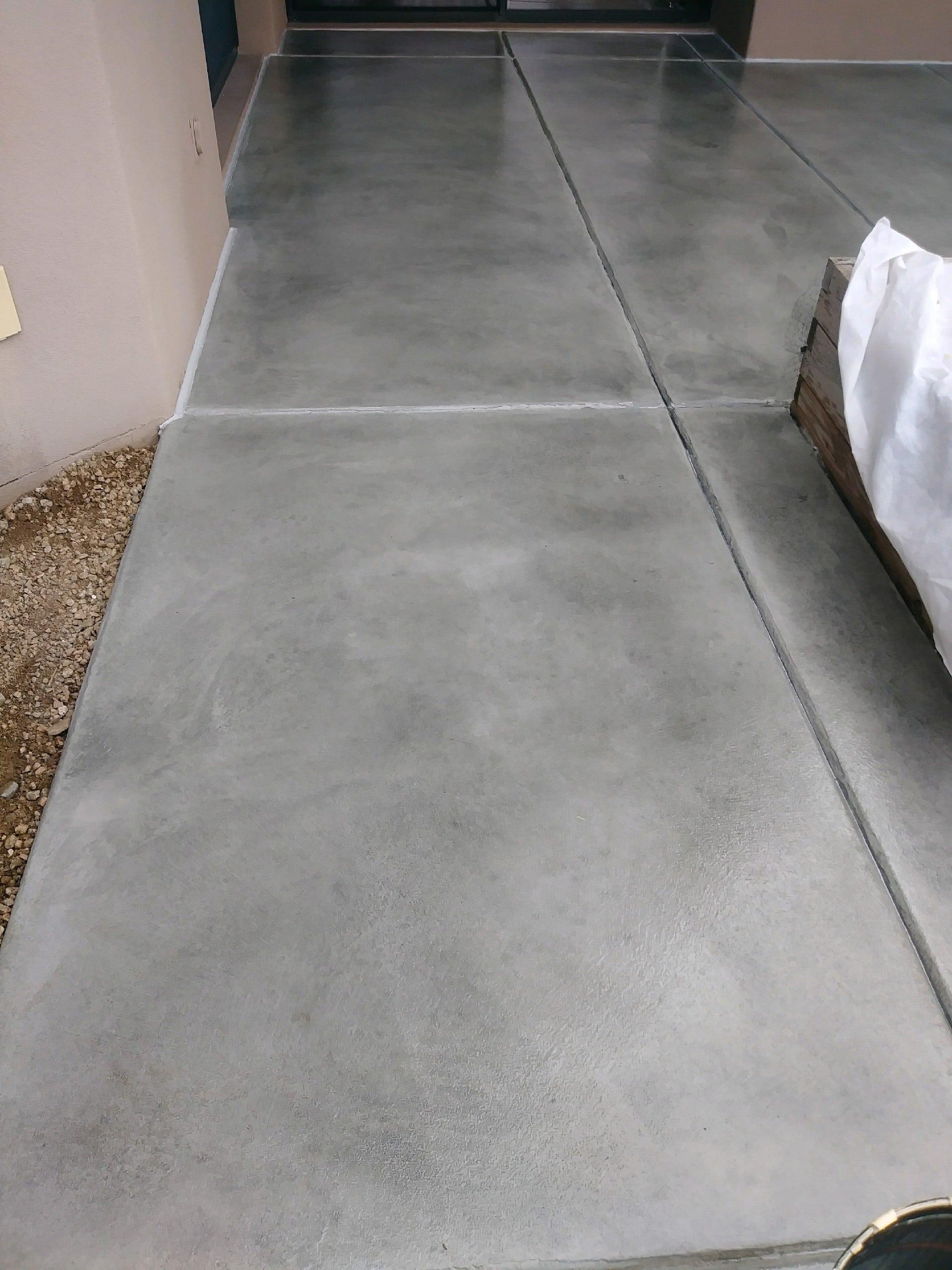 Stained Concrete Deck Resurfacing Az