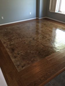 Stained Concrete   Arrowhead Deck And Concrete, LLC