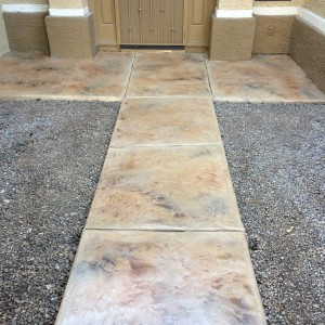 refinish walkways