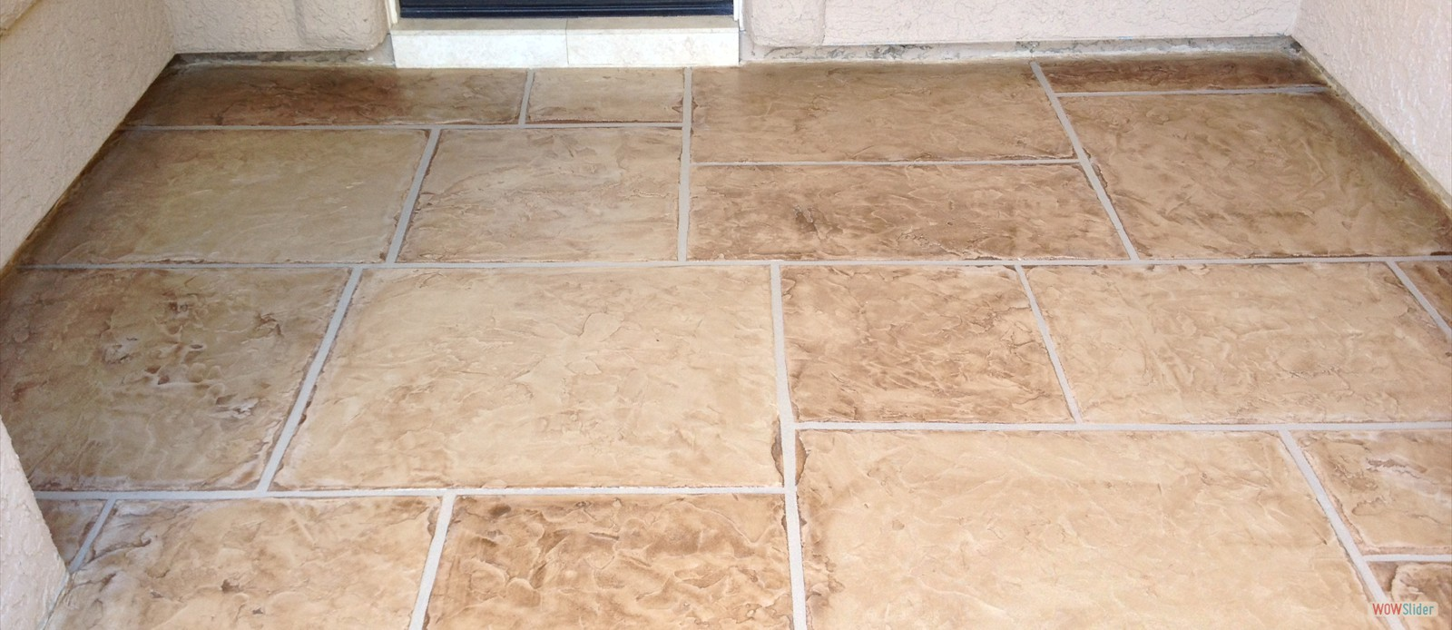 Flagstone Entry After