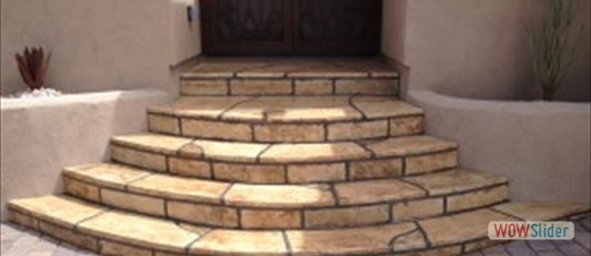 Rounded Stairs After