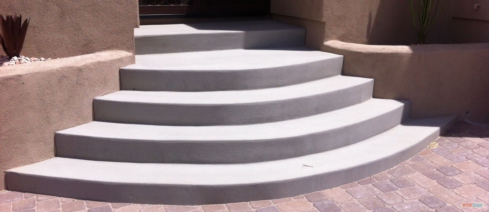 Rounded Stairs Before